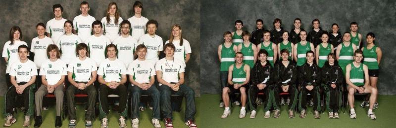 Triathlon & Athletics/XC team's 2010