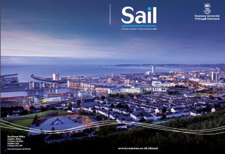 Sail Magazine Cover 2012
