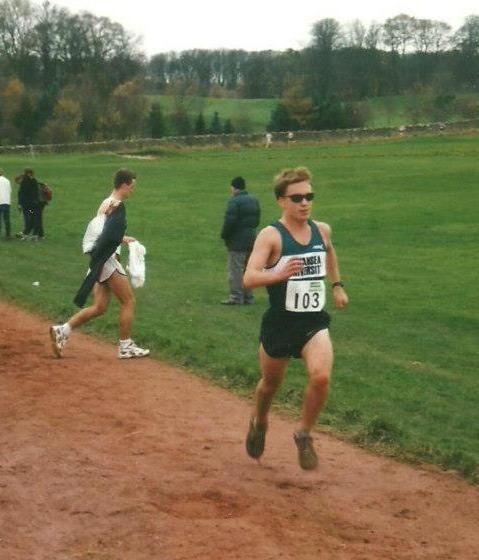 Ryan Larson Racing at Braid Hills Cross Country 1999
